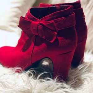 a6b733a2270 IMPO CANDY APPLE RED BOOTIES 10 M
